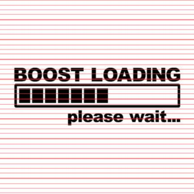 Brand Merchandise - Decals - Avery - Boost Loading Decal