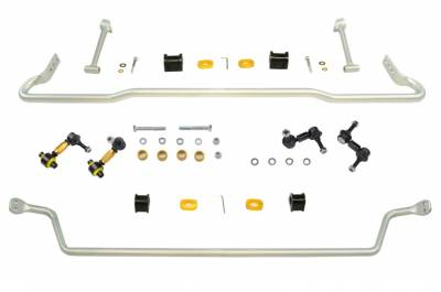 Whiteline - Whiteline Front and Rear Sway Bar Kit