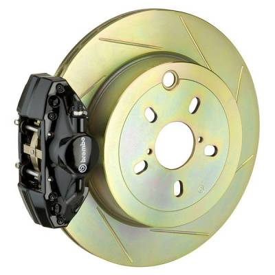 Brembo - Brembo GT 316MM Big Brake Kit Slotted Rear