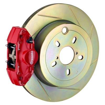 Brembo - Brembo GT 316MM Big Brake Kit Slotted Rear - Image 2