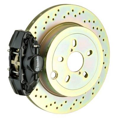 Brembo - Brembo GT 316MM Big Brake Kit Drilled Rear