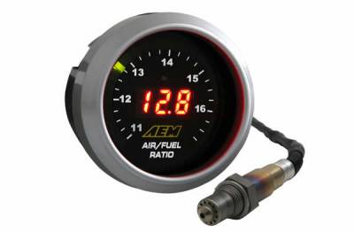 Gauges - Air & Fuel - AEM Induction - AEM UEGO Wideband Controller 4.9LSU AFR Gauge