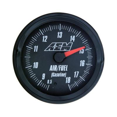 Gauges - Air & Fuel - AEM Induction - AEM UEGO Wideband Controller AFR Gauge Analog