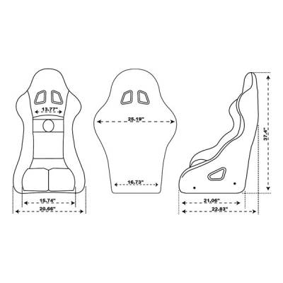 Pyrotect - Pyrotect Ultra Series Race Seat - Image 2