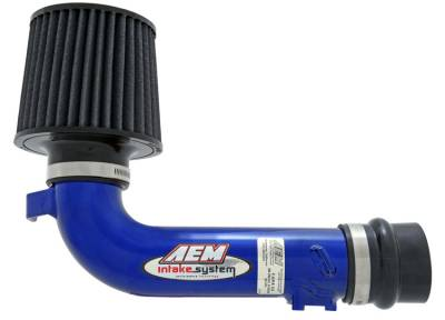 Air Intakes - Short Ram Intakes - AEM Induction - AEM Short Ram Intake Blue