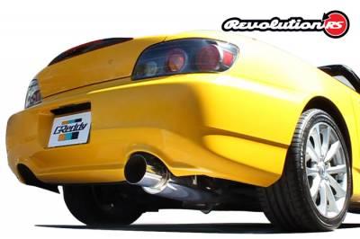 GReddy - GReddy RS 76MM Catback Exhaust - Image 1