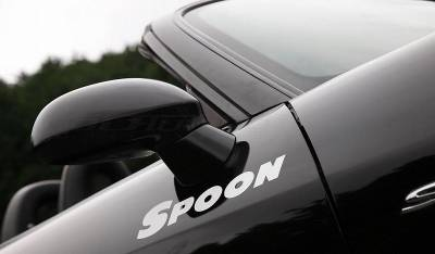 Spoon Sports - Spoon Sports Team Sticker White 300mm