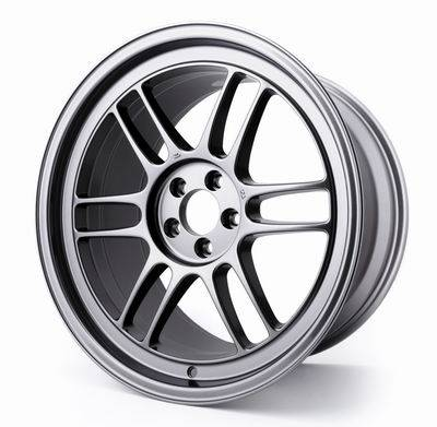 Wheels - Wheels - Enkei - Enkei Dark Silver RPF1 18x9.5 5x100 +38mm