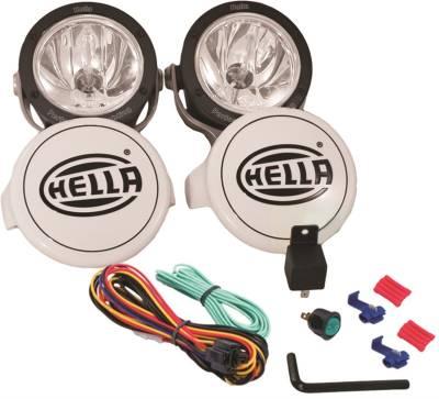 Rally Equipment - Lights - Hella - Hella Rallye 4000X Halogen Driving Lamp Kit
