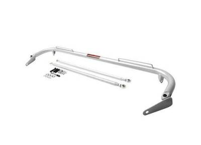Race Gear - Harness Bars & Cages - Cipher Auto - Cipher Universal Harness Bar Silver Coated 48""