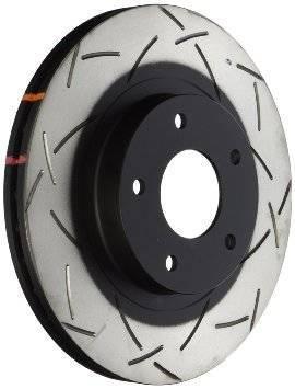 Brakes - Brake Rotors - Disc Brakes Australia - DBA 4000 Series T-Slot Slotted Rotor Single Rear