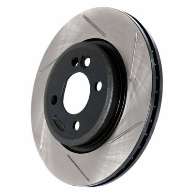 Brakes - Brake Rotors - StopTech - Powerslot Slotted Front Left Rotor Single