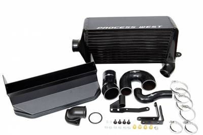 Process West - Process West Verticooler Top Mount Intercooler Black