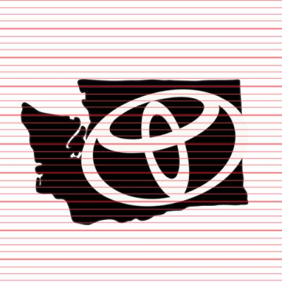 MERCHANDISE - Avery - Washington Toyota Decal