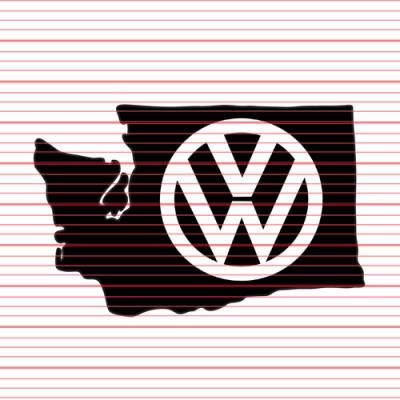 MERCHANDISE - Avery - Washington VW Decal