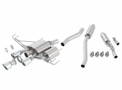 Exhaust Systems - Cat Backs - Borla - Borla Catback Exhaust ATAK