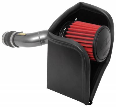 ENGINE - Air Intakes - AEM Induction - AEM 17-18 Honda Civic Si 1.5L Cold Air Intake Gunmetal