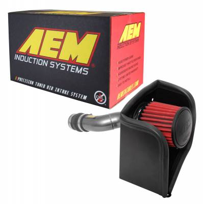 AEM Induction - AEM 17-18 Honda Civic Si 1.5L Cold Air Intake Gunmetal - Image 6