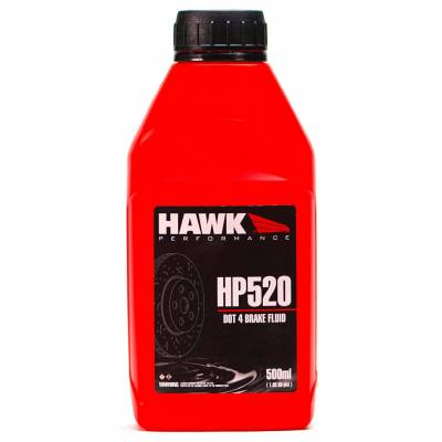 Fluids - Brake Fluids - Hawk Performance - Hawk HP520 Dot 4 Brake Fluid 500ml