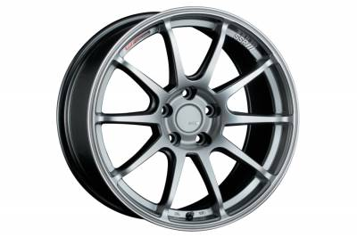 SSR - SSR GTV02 18x7.5 5x100 48mm Offset Glare Silver Wheel