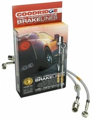 Goodridge - Goodridge Stainless Brake Line Kit - Image 2