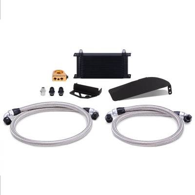 Mishimoto - Mishimoto Oil Cooler Kit Black