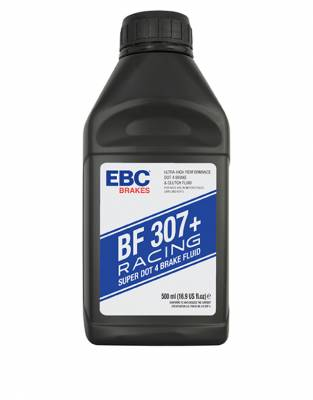 Fluids - Brake Fluids -  EBC Highly Refined Dot 4 Racing Brake Fluid - 1 Liter