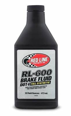 Fluids - Brake Fluids - Red Line RL-600 Brake Fluid 16oz