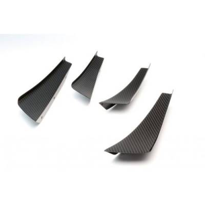 Aero - Diffusers - APR Performance - APR Performance Carbon Fiber Front Bumper Canards