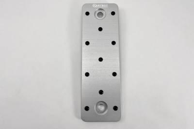 Interior Components - Pedals - Kartboy - Kartboy Subaru CNC Silver Dead Pedal